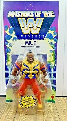 $19.85 • Buy MOTU - Masters Of The WWE Universe Mr. T Action Figure Wave 4 IN HAND FAST SHIP