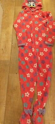 Girls Disneys Daisy Duck All In One Sleep Suit Age 13 • 1.40£
