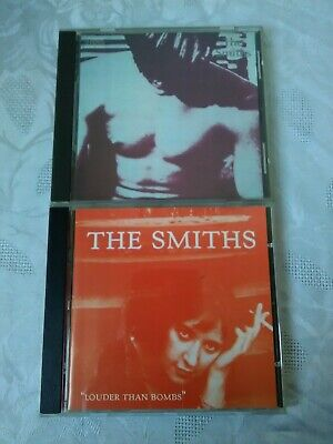 The Smiths X 2 Cd Albums - The Smiths & Louder Than Bombs • 3£