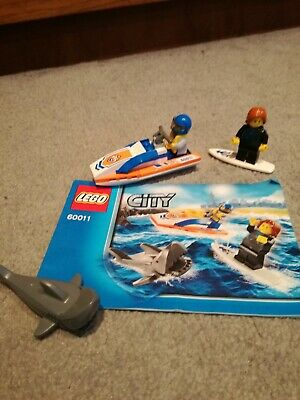 Lego City Surfer Rescue 60011 • 3£