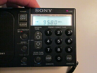 £46 • Buy Sony ICF-SW1 Capacitor Replacement Repair Service