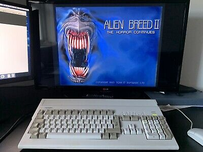 Amiga 1200 8MB RAM Expansion, 4GB CF Hard Drive - Tested & Working • 165£