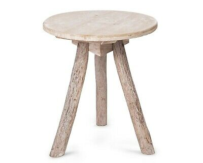 AU25 • Buy Small Round Wooden Side Table End Table Coffee Table Accent Table