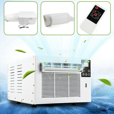 AU245.09 • Buy Window Air Conditioner Portable 1100W Wall Cooler Fan Cooling Only Fit Summer AU