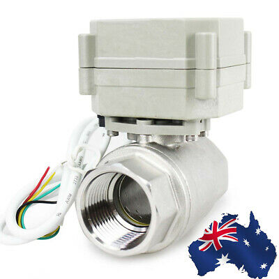 AU319.99 • Buy 2 Way 1/2  To 2  220-240VAC SS304 N.C. Electrical Position Motorized Ball Valve