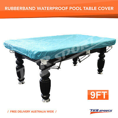 AU27.99 • Buy 9FT Rubber Band Water Resistance Cover For Pool Snooker Billiard Table