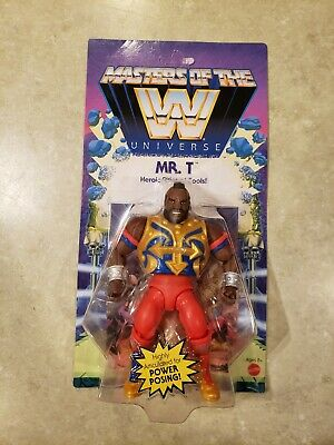 $28.99 • Buy WWE Masters Of The WWE Universe MR.T MOTU UNPUNCHED WAVE 4