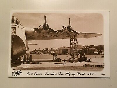 East Cowes, Saunders Roe Flying Boats, 1950. Francis Frith Postcard • 1.40£