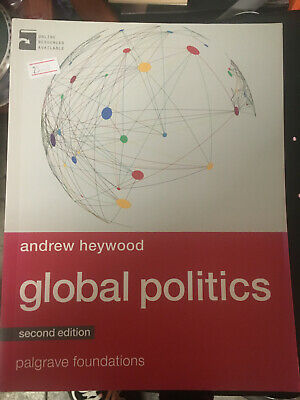 Global Politics Andrew Heywood Second Edition Paperback Free Postage • 25£