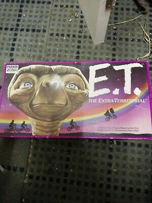 RARE ~ ET THE EXTRA TERRESTRIAL BOARD GAME By PARKER 1982 All Items • 12£