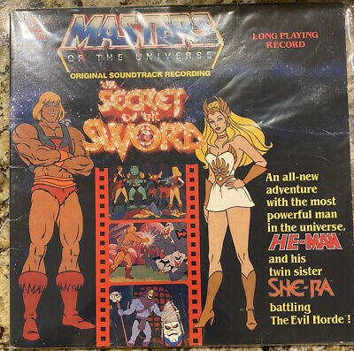 $19.99 • Buy MASTERS Of The UNIVERSE - SECRET Of The SWORD Vinyl LP Soundtrack He-Man/She-Ra