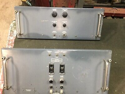 $225 • Buy Military Radio Transmitter T368 Modulator And Power Supply Complete Panels