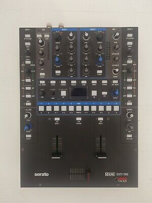£780 • Buy Rane Sixty Two 62 - Serato DJ Pro - 2 Channel DJ Battle Mixer - With INNO Fader