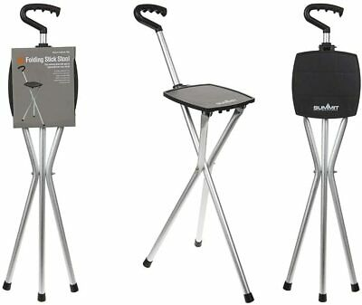 £14.99 • Buy Summit Folding Walking Stick Stool Chair Hiking Camping Holds Up To 100kg 761013
