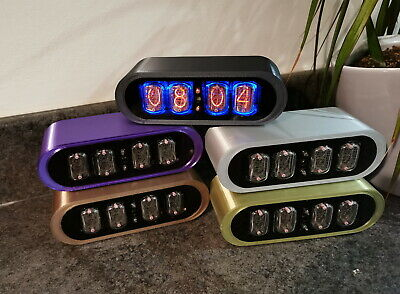 The Contemporary POD Nixie Tube Clock From Bad Dog Designs  • 159£