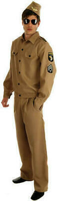 Military Army 1940s American GI  Fancy Dress Costume M 38/40  Chest • 8£