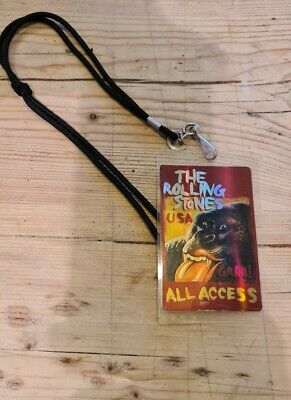 Rolling Stones All Access Pass And Lanyard GRRR USA Tour  • 9.99£