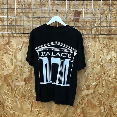 Palace London Stronghold Tee T-shirt S SMALL Black Tri Ferg Supreme Cond. • 45£