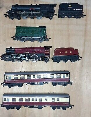 Oo Gauge Job Lot 3x Locos 2x Carriages Last Used 1969 Currently Non Runner • 10.50£