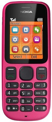 £15.99 • Buy Brand New Nokia 100 Mobile Phone PINK  Boxed  (Vodafone)