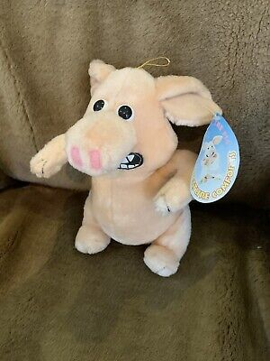 """£10 • Buy Creature Comforts Martin The Pig Soft Toy 10"""" Inc Ears With Original Tag"""