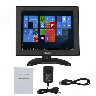10.4  Inch HDMI BNC Compact LCD Color Monitor Screen For PC Security CCTV Camera • 73.99£