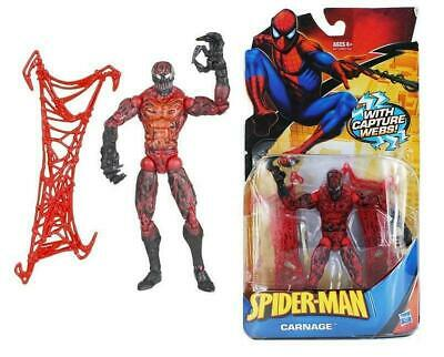£14.99 • Buy Hasbro Spider-man Action Figure - Carnage Poseable With Capture Webs