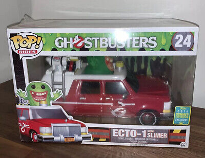 Funko POP! Rides: Ghostbusters Ecto-1 W/ Slimer #24 2016 Summer Convention • 25.03£