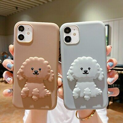 AU5.96 • Buy Cute Teddy Dog Hot Cartoon Lovely Animal Silicone Case Cover For Various Phone