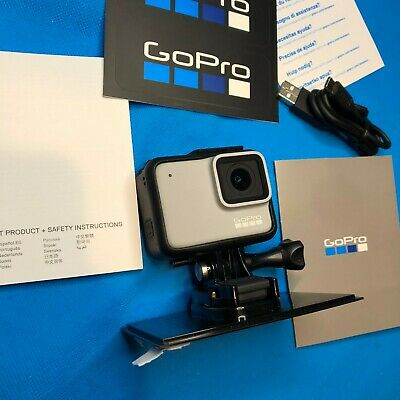$ CDN220.62 • Buy New GoPro HERO7 White Waterproof Action Camera Touch Screen 1440p HD Vid