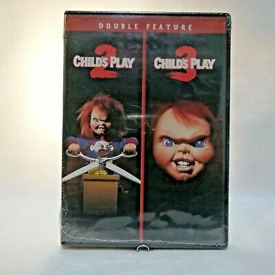 Brand New Child's Play 2 & 3 Double Feature DVD Classic Horror Chucky Ships FAST • 8.93£