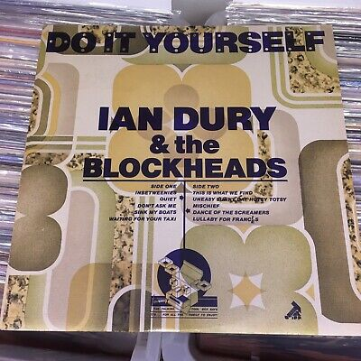 Ian Dury And The Blockheads Do It Yourself VINYL LP • 15£