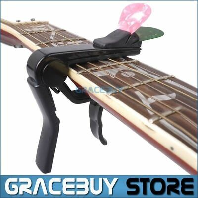 $ CDN23.10 • Buy Alice Black Alloy Guitar Capo For Acoustic/ Electric/ Classical Guitar, Cappo On