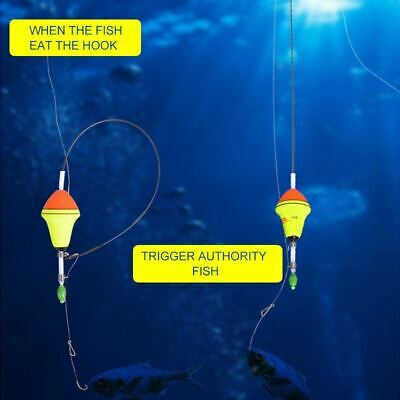 AU21.40 • Buy Fish Hooks  Automatic Fishing, Automatic Fishing Gear Novice Use Tools  Kit Gift