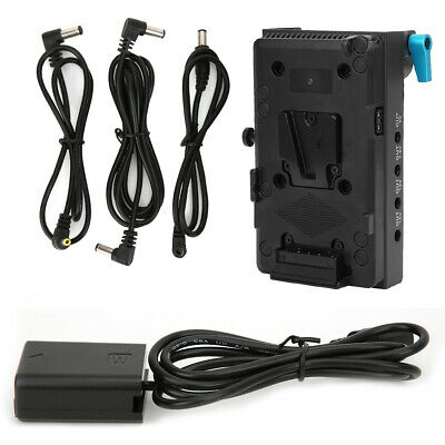 $ CDN82.64 • Buy Full Decode V Mount Battery Plate Adapter For Sony Alpha A6000 A6300 A6500 A7R