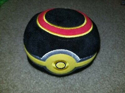 Real  Authentic Pokemon Plush  4  Ultra Ball  WCT  Pokeball  • 7.21£