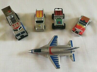 5 Vintage Matchbox Connectable Military Vehicles Truck Tank Plane Jeep • 17.99£