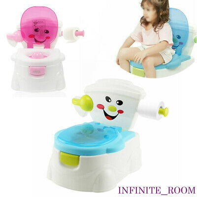 £15.89 • Buy 2 In 1 Kids Toilet Seat Baby Toddler Training Potty Trainer Safety Urinal Chair