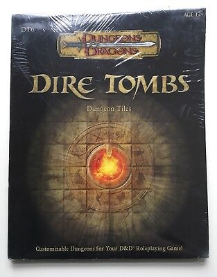 AU73.79 • Buy Dungeons And Dragons Accessories: DT6 Dire Tombs Dungeon Tiles