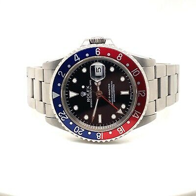 $ CDN17380.17 • Buy Rolex 16700 GMT II Master Pepsi