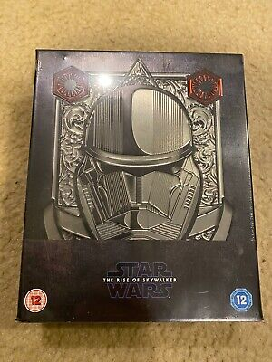AU193.44 • Buy Star Wars Rise Of Skywalker Zavvi Exclusive Collector's Edition 3D Blu-ray NEW