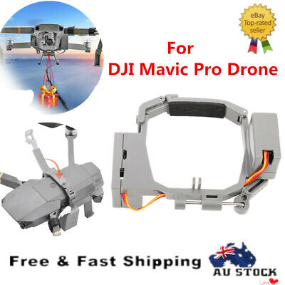 AU46.59 • Buy Air-Dropping Double Release Ring Fishing Bait Thrower For DJI Mavic Pro Drone AU