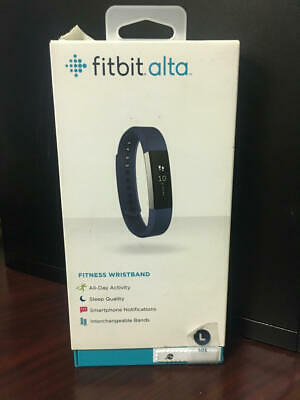 $ CDN75.76 • Buy BLUE Fitbit Alta Fitness Wristband Activity Tracker