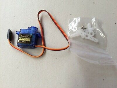 AU3.50 • Buy 9g MICRO SERVO WITH SCREWS AND ASSORTED OPERATING ARMS