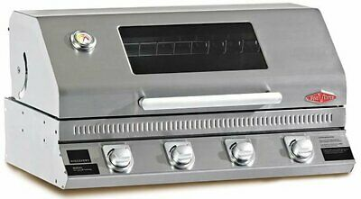 AU1199 • Buy Beefeater Discovery 1100S 4 Burner Built-In LPG BBQ Model BD16340 RRP $1399.00