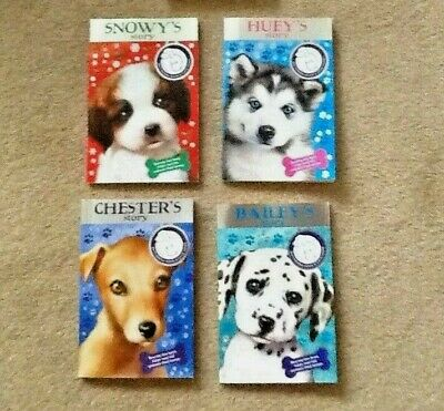 (X4) Battersea Dogs Home Story Books & Fun Facts Age 5+ • 11.50£