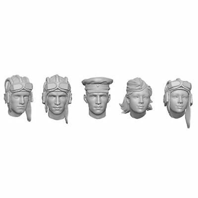 £19.99 • Buy SOL RESIN FACTORY, SCALE 1/16, WWII Russian Tank Crew Head Set , MM328