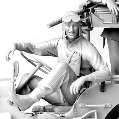 £39.89 • Buy SOL RESIN FACTORY, WWII U.S.ARMY Driver ,cat.no.MM332, SCALE 1:16
