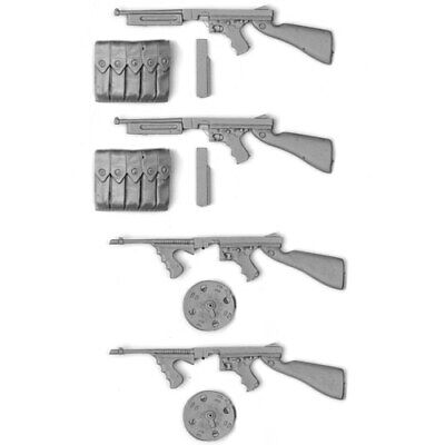 £17.99 • Buy SOL RESIN FACTORY, Cat.no.MM374, U.S. Thompson M1928 A1 X 4, SCALE 1:16