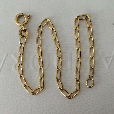 AU120 • Buy 9ct Solid Yellow Gold Flat Link Bracelet